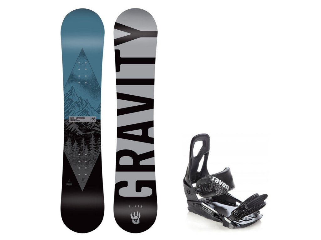 Snowboard komplet Gravity Flash 19/20 junior + S200