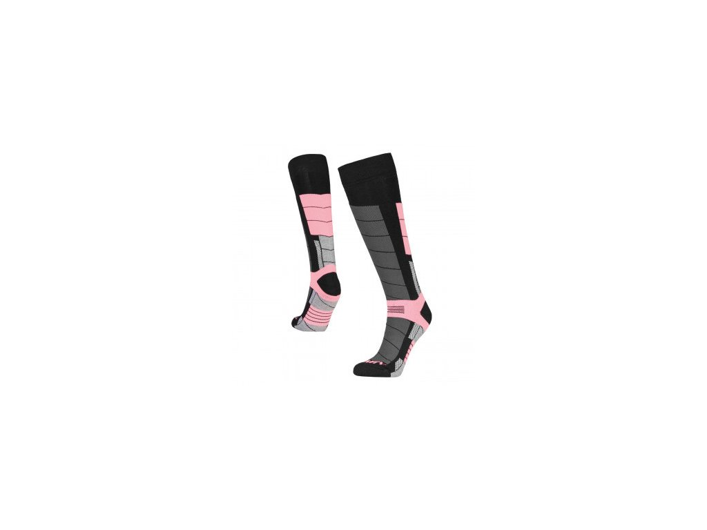 Podkolenky Gravity Nico black/pink