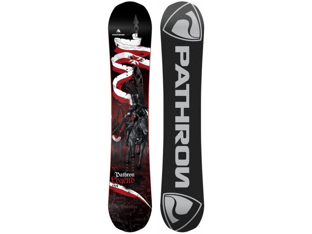 Snowboard komplet Pathron Legend + vázání Fastec