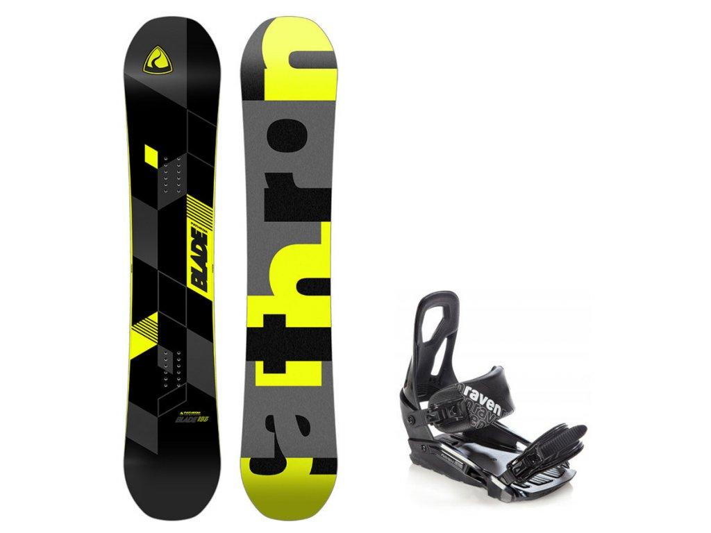 Snowboard komplet Pathron Blade + vázání S200