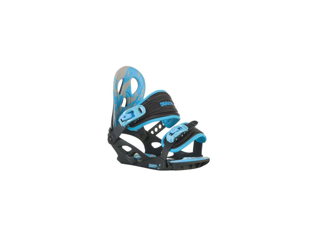 vázání Gravity G1 Jr black/blue