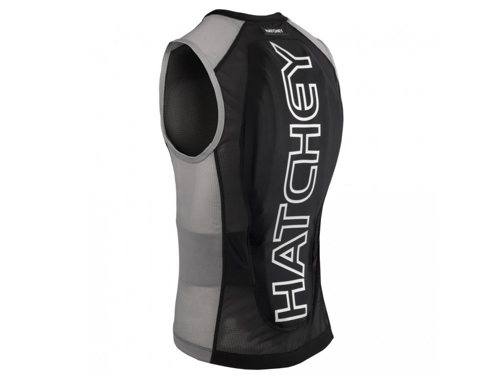 Páteřák HATCHEY Vest Air Fit black/grey