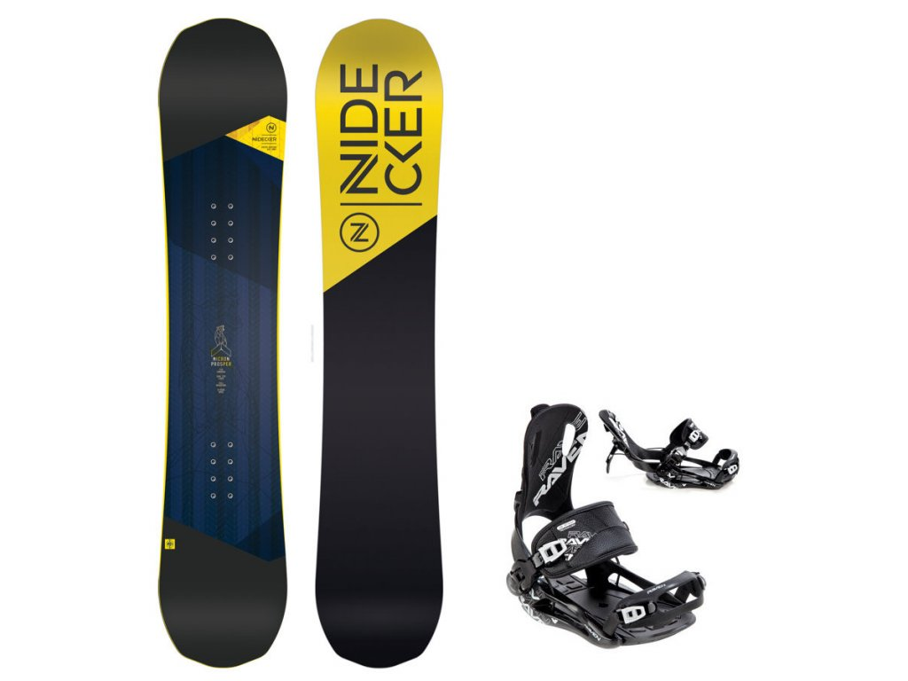 Snowboard komplet Nidecker Prosper + vázání Fastec