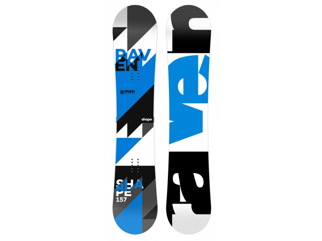 Snowboard Raven Shape