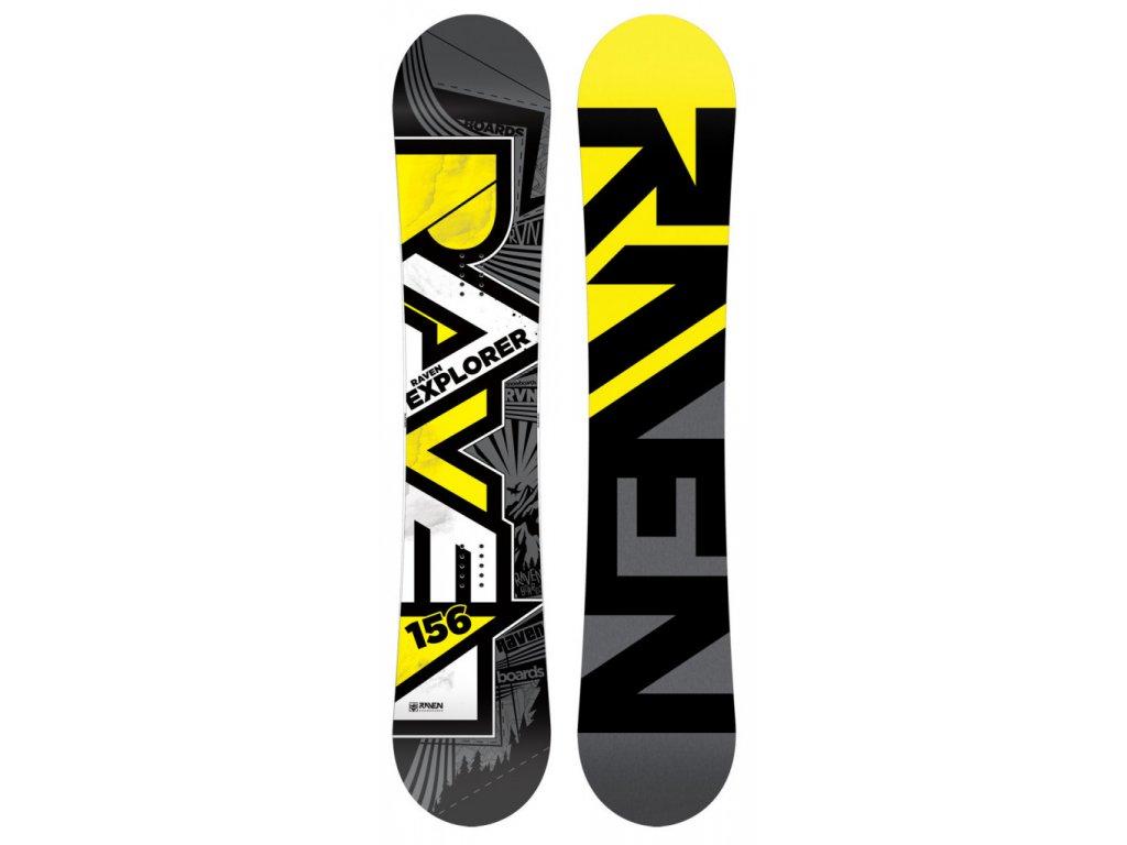 Snowboard Raven Explorer