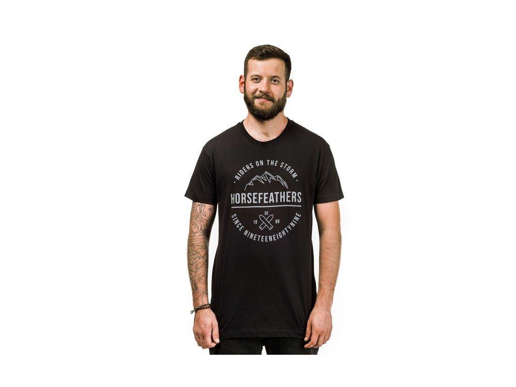 Tričko Horsefeathers Riders black
