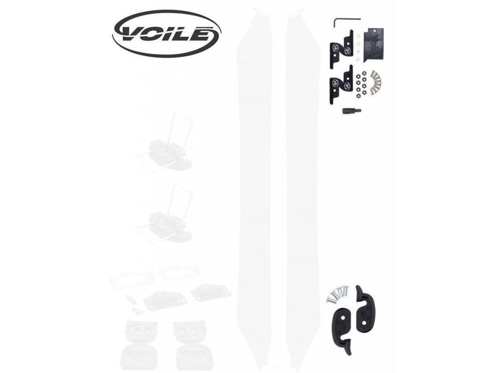 Voile set pro spojení splitboardu (háčky a klipy)
