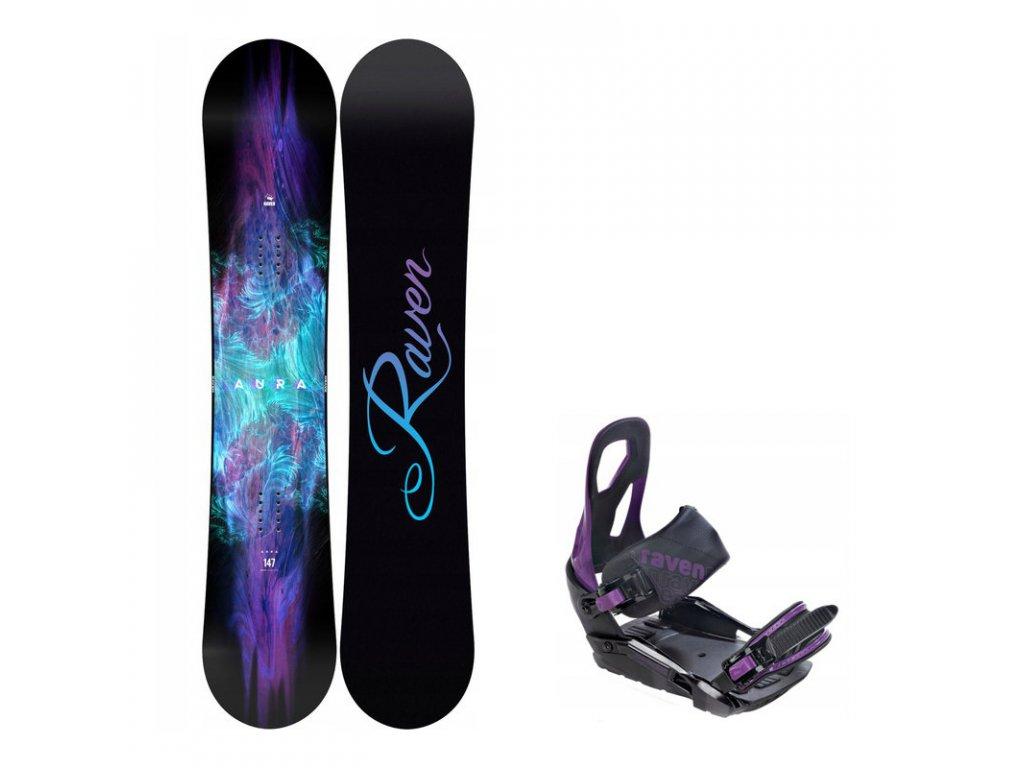 snowboard komplet raven aura s200 1