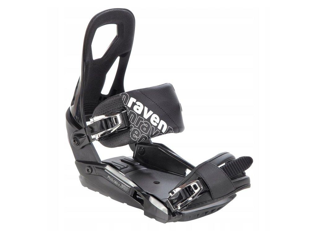 Wiazania snowboardowe Raven S240 Black M L 2021 Marka Raven