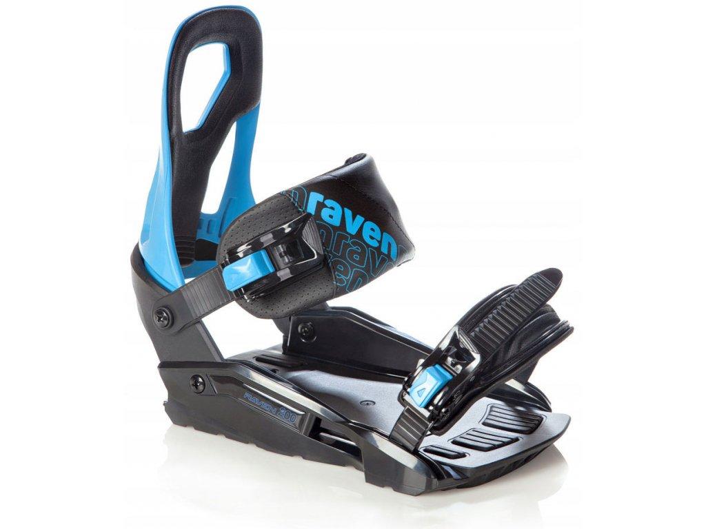 big 15705500138171 snowboard komplet raven shape vazani s200 blue