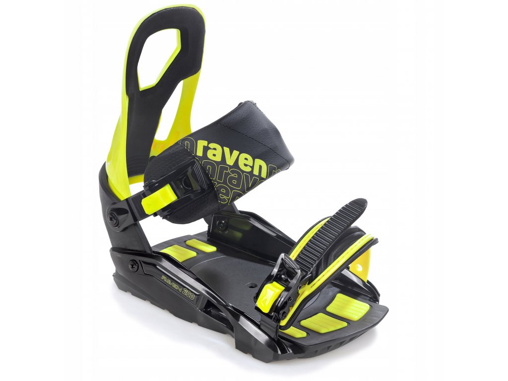 Wiazania snowboardowe RAVEN S200 Lime M L 2021 Kod producenta 009291