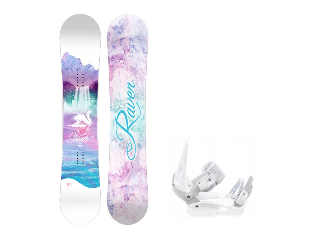 snowboard komplet raven swan s200
