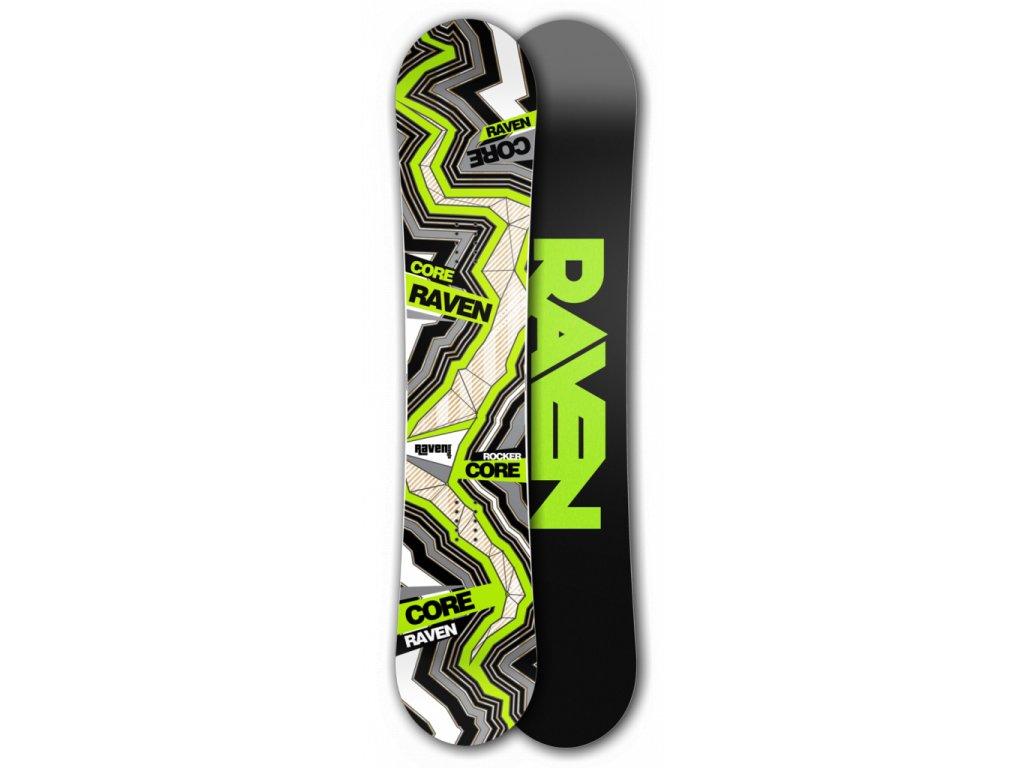 Snowboard Raven Core carbon