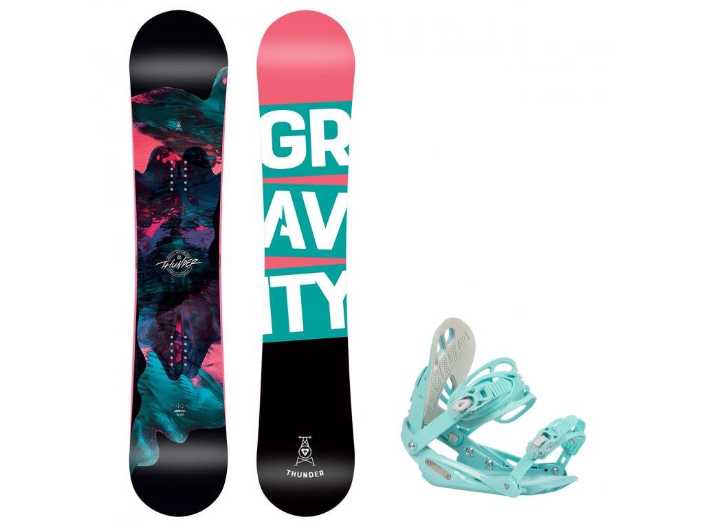 snowboard komplet gravity thunder g1 6990