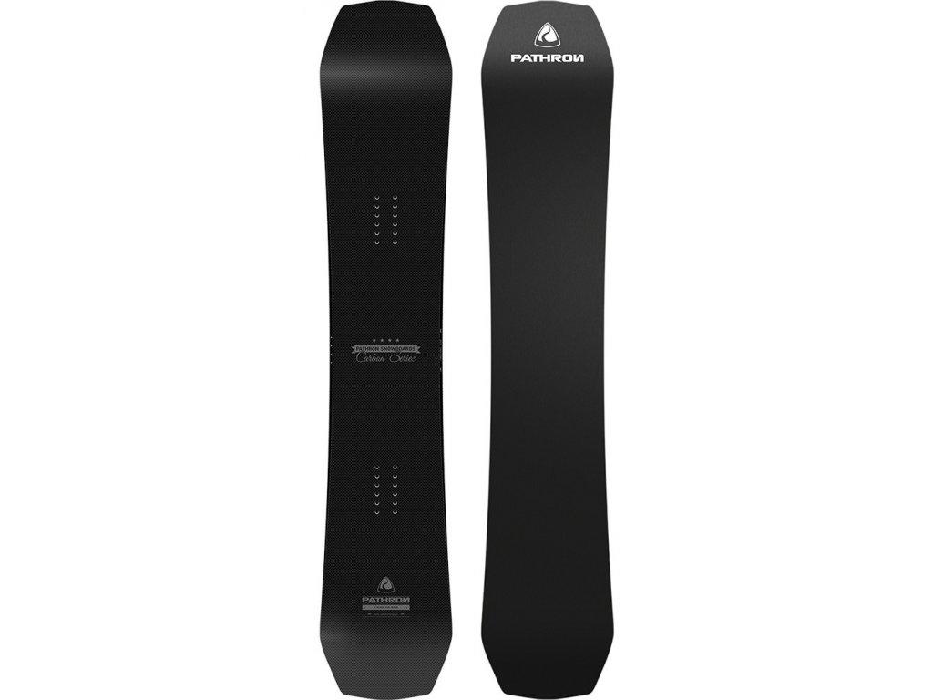 Snowboard Pathron Carbon silver