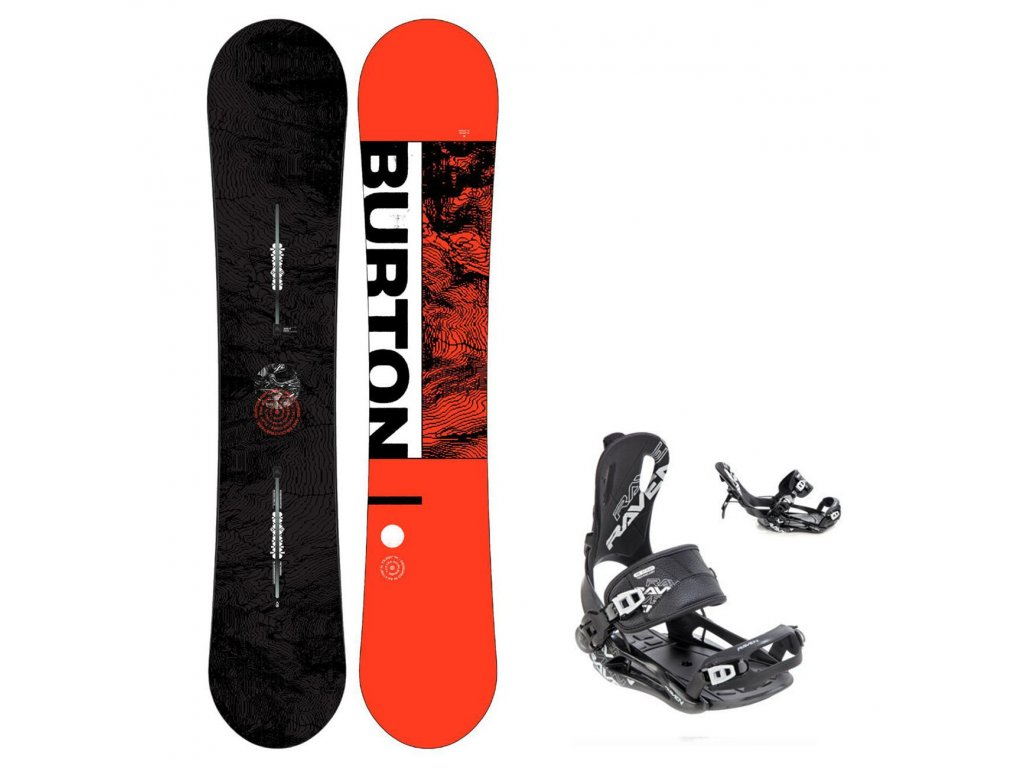 snowboard komplet burton ripcord fastec