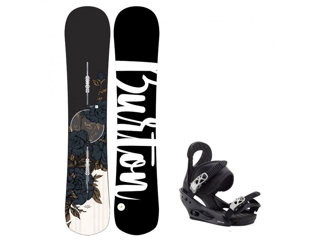 snowboard komplet burton hideaway citizen