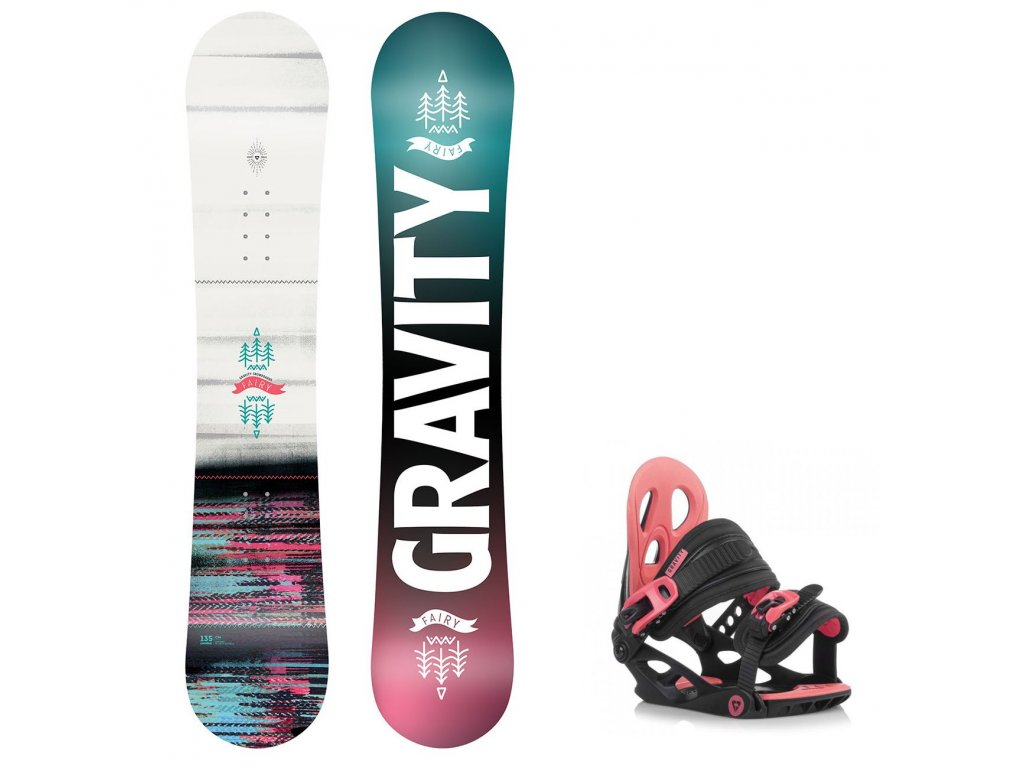 snowboard komplet gravity fairy g1junior2