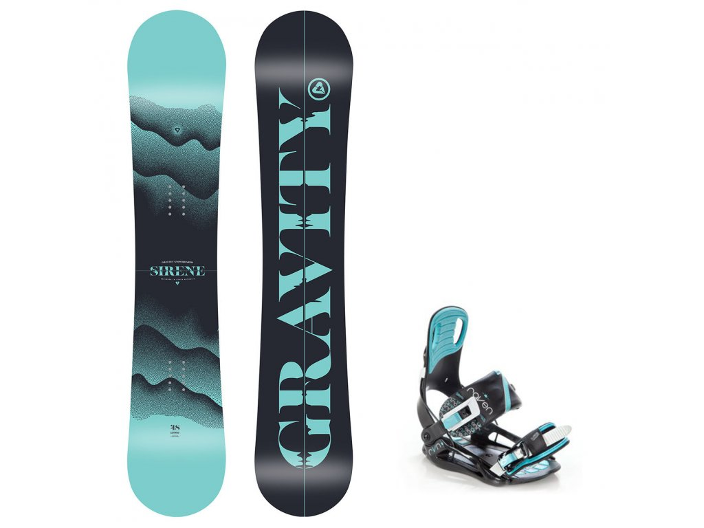 snowboard komplet gravity sirene starlet