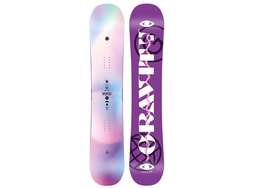 snowboard komplet gravity voayer s200 violet