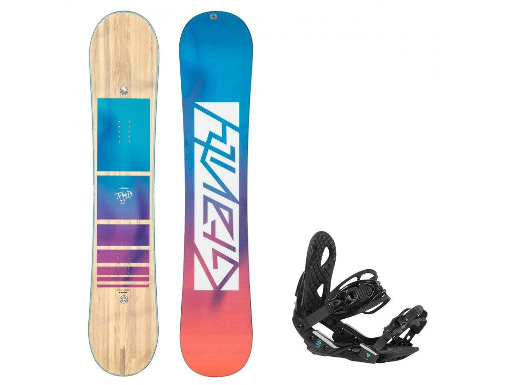 snowboard komplet gravity trinity g2 7990