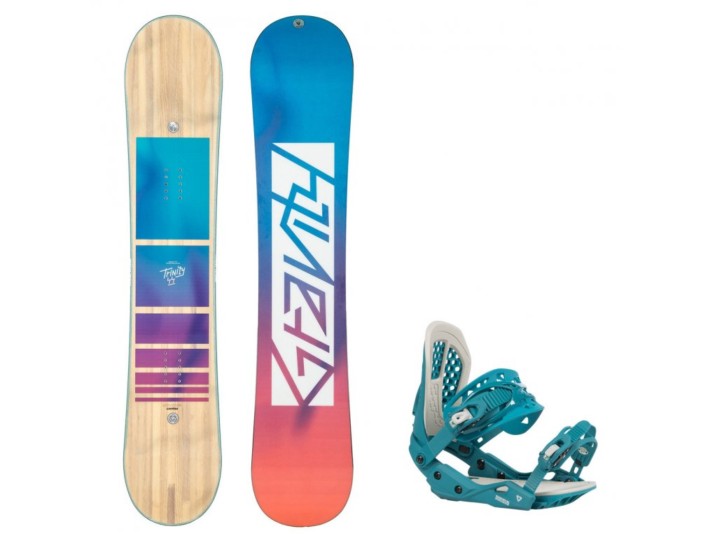 snowboard komplet gravity trinity g3 8390
