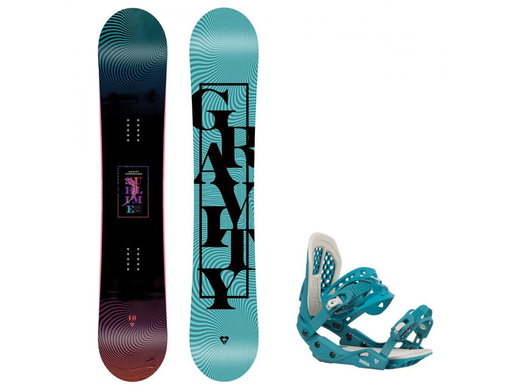 snowboard komplet gravity sublime g3 8390