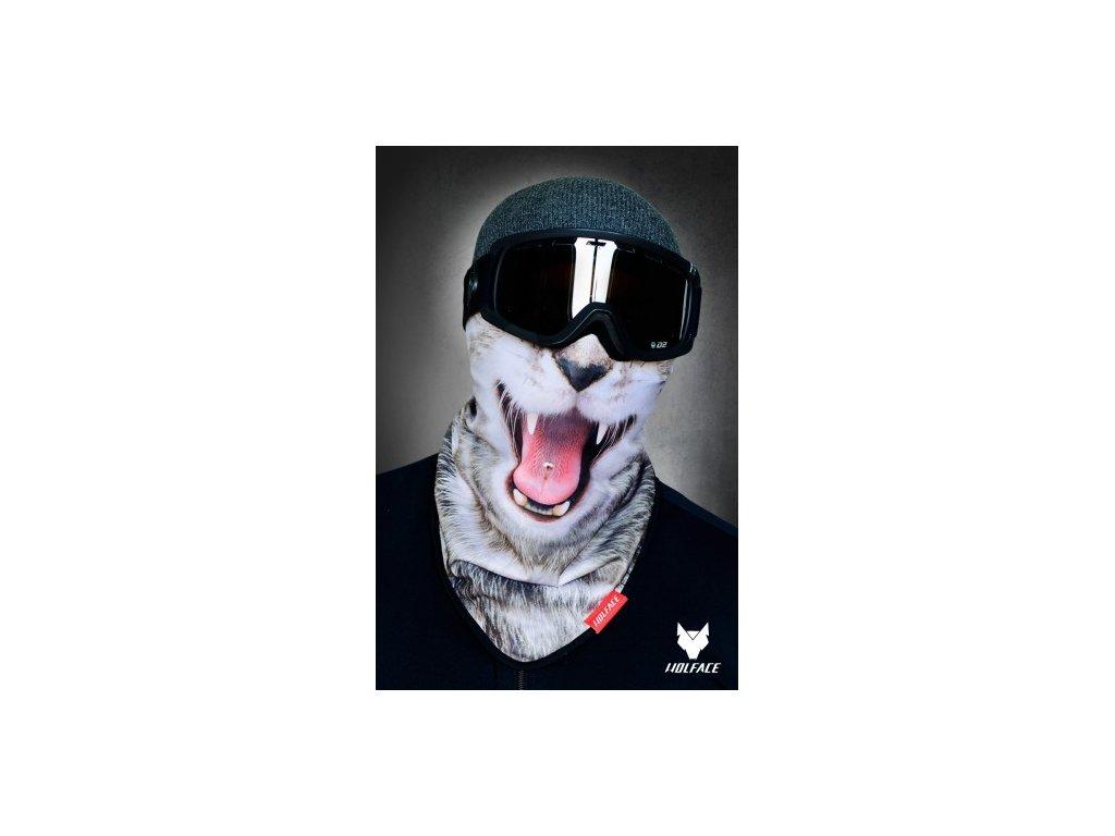 Nákrčník (bandana) Wolface Kitten