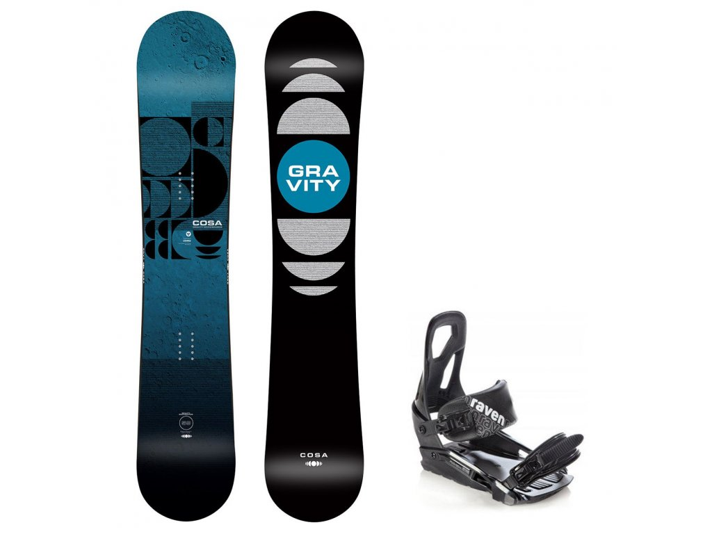 snowboard komplet gravity cosa s200