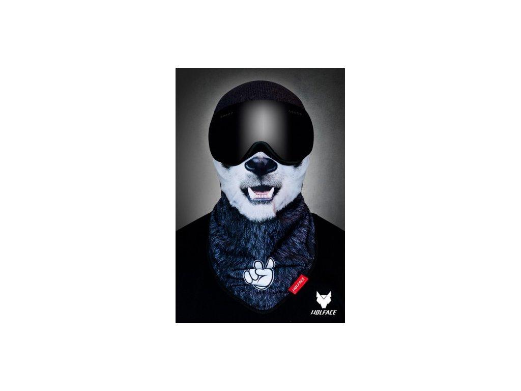Nákrčník (bandana) Wolface Hi PANDA
