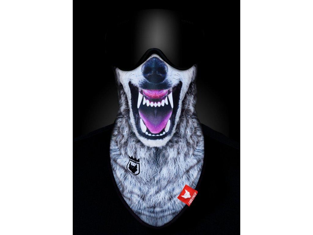 Nákrčník (bandana) Wolface BAD WOLF