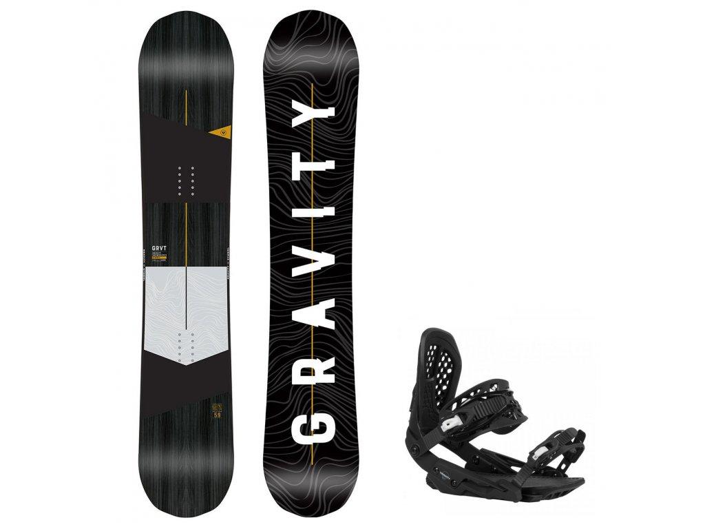snowboard komplet gravity symbol g3
