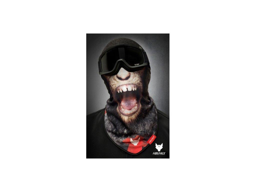 Nákrčník (bandana) Wolface DIRTY MONKEY