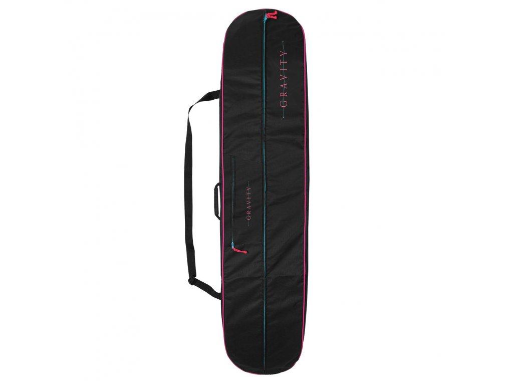 Obal na snowboard Gravity Rainbow black 20/21