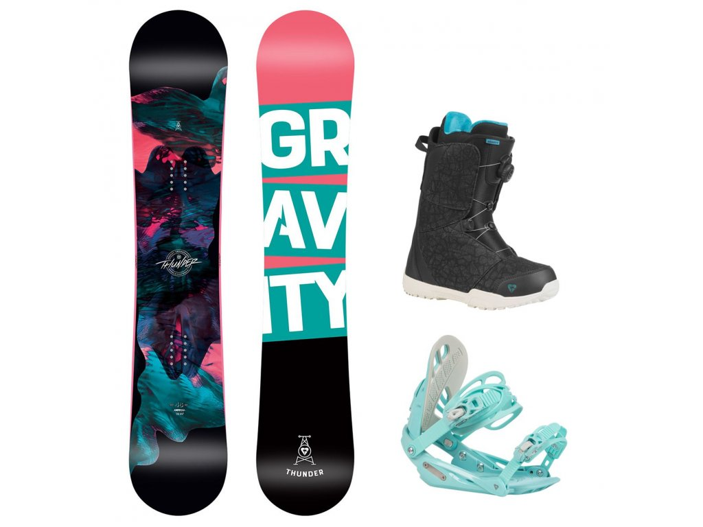 snowboard komplet gravity thunder g1 aura