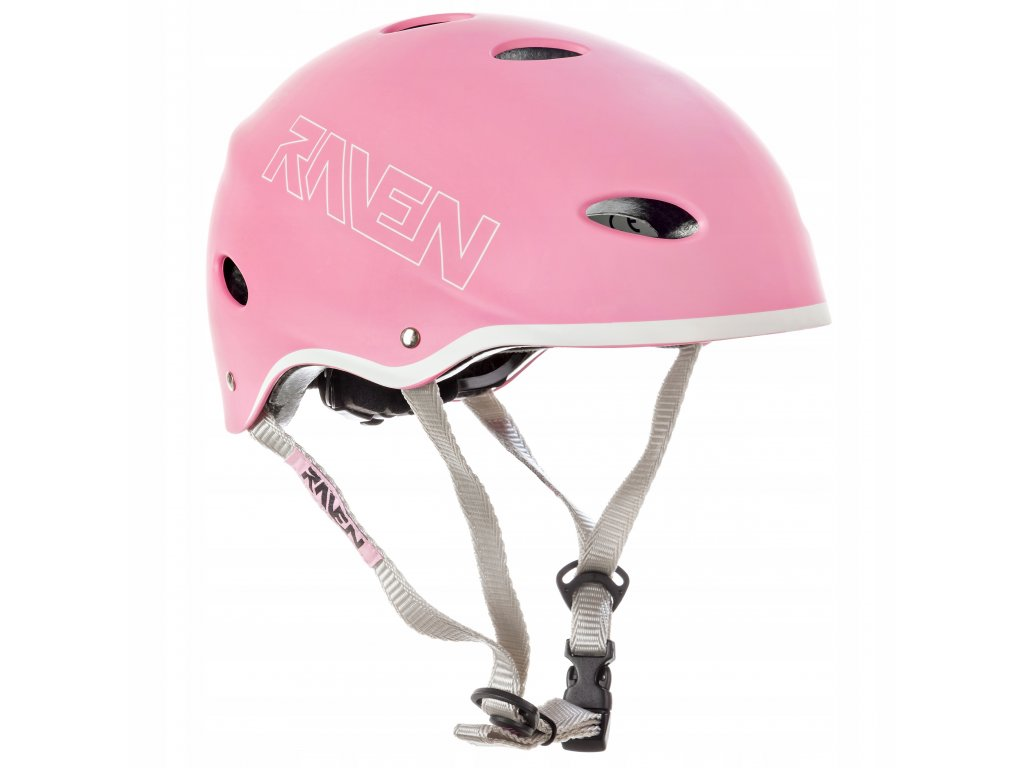 helma na kolobezku brusle snowboard RAVEN F511 Pink
