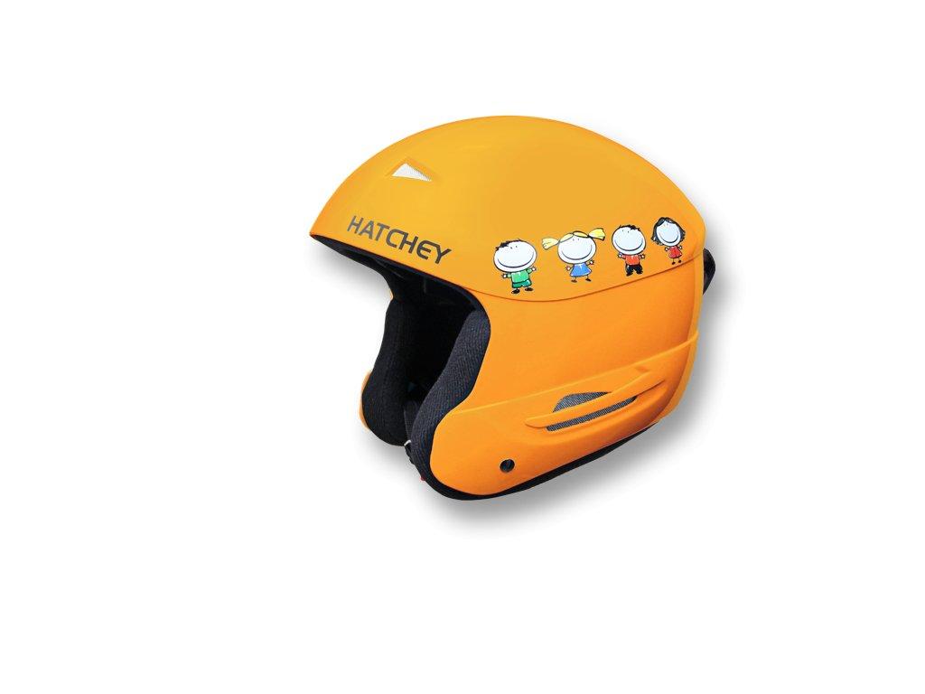 Helma na snowboard Hatchey Swan orange