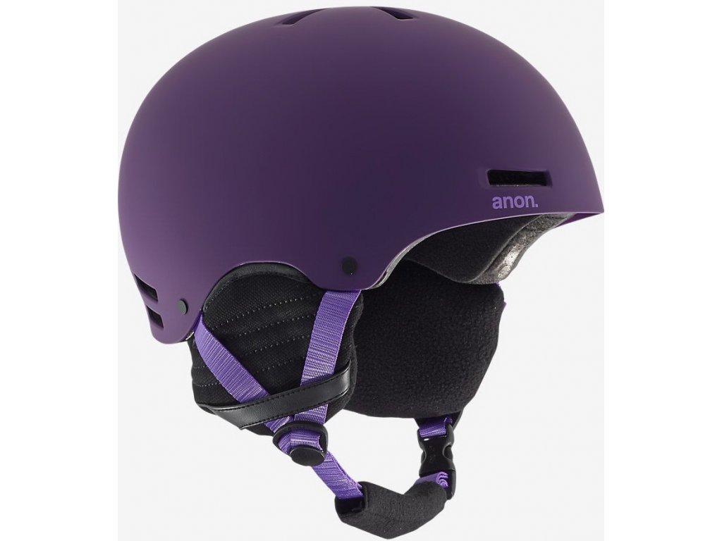 Helma na snowboard ANON GRETA imperial purple