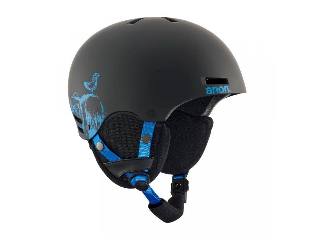 Helma na snowboard Anon Rime sulley black