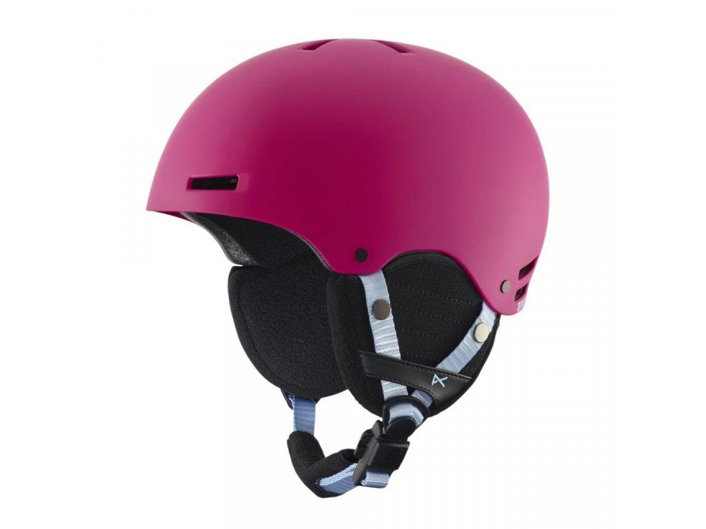 Dětská helma Anon Rime pink 17/18