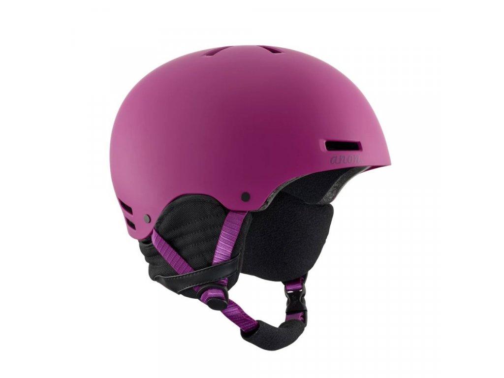 Helma na snowboard ANON GRETA purple