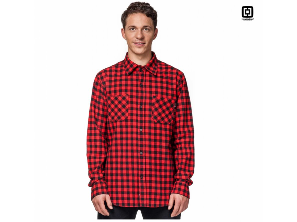 Košile Horsefeathers Austin red