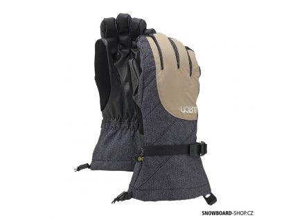 Rukavice Burton Approach Glove sandstruck/denim