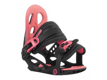 vázání Gravity G1 Jr black/pink 18/19