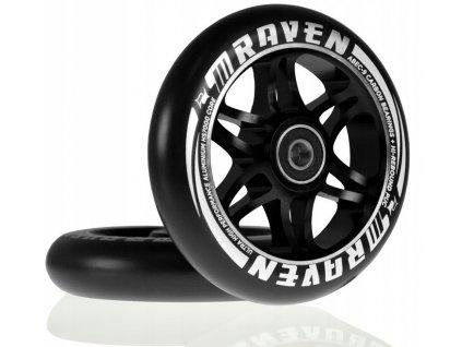 Náhradní kola 110mm na freestyle koloběžky zn. Raven (2ks) (s ložisky)