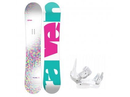 snowboard komplet raven pearl s200
