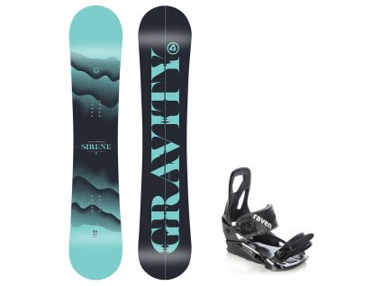 snowboard komplet gravity sirene s200