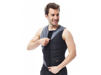 wake vesta Comp vest men zipper grey 2017