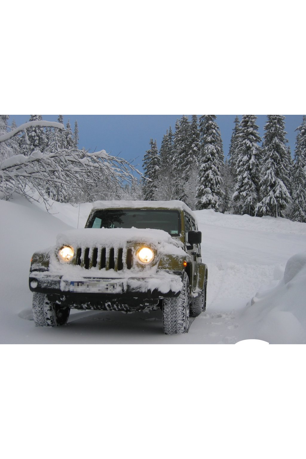 Kurz jízdy na sněhu Jizerky 180 minut