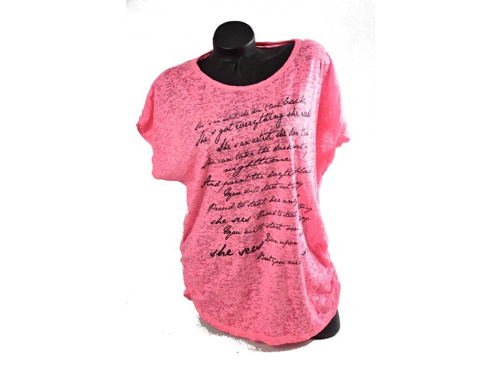 Módní sportovní triko, bluzka